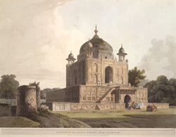 Musoleum of Sultan Purveiz, near Allahabad